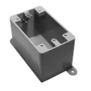 "Ipex 077603 Weatherproof Box, Type: FD, Depth: 2-3/4"", Non-Metallic"