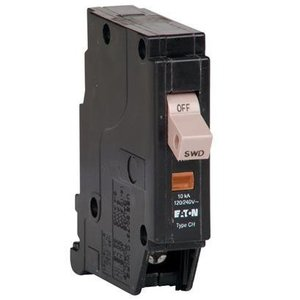 Eaton CHF120 Breaker, 20A, 1P, 120/240V, 10 kAIC, Type CH