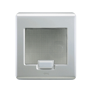 Pass & Seymour IC5002-BS Selective Call Door Unit Brushed Ss