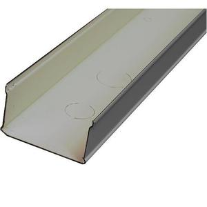 "Wiremold G3000B Raceway Base, 3000 Series, Steel, Gray, 2-3/4"" x 1-15/32"" x 10'"