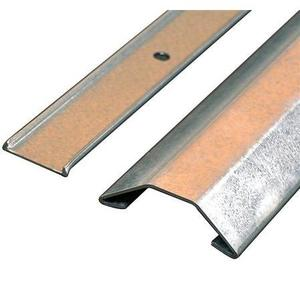"""Wiremold 2600-10 Raceway Base & Cover, 2600 Series, Steel, 2-7/32"""" x 23/32"""" x 10'"""