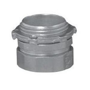 "Appleton 7100US EMT Compression Connector, 1"", Steel, Concretetight."