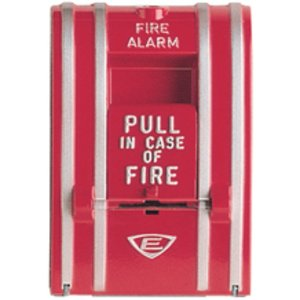 Edwards 270-DOC Fire Alarm Pull Station, Type: Single Action, 0.5A, 250V AC/DC