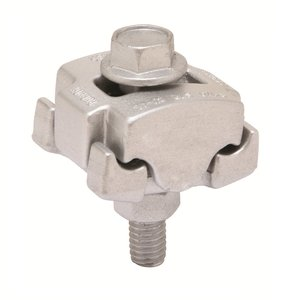 Burndy UCG25RS Parallel Groove Clamp, Aluminum, 8 - 1/0 AWG, Limited Quantities Available