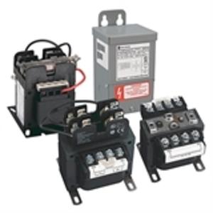 Hammond Power Solutions PH100QR Transformer, Control, 100VA, Group D, 240x480 - 24VAC, 1PH