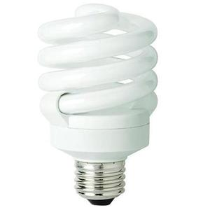 TCP 801019 Compact Fluorescent Lamp, 19W, EL/mDT, 2700K