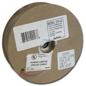 Nutone 376UL 18/2 Wire, 100'