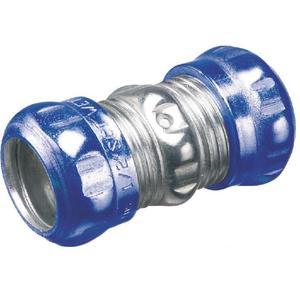 Arlington 833RT EMT Compression Coupling, 1-1/4 inch, Raintight/Concrete Tight, Steel