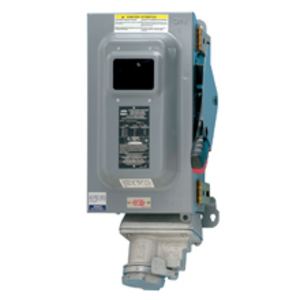 Cooper Crouse-Hinds WSRDW63542SMS901 Arktite Receptacle w/Enclosed Disconnect, 60A, 3P3W, Fusible