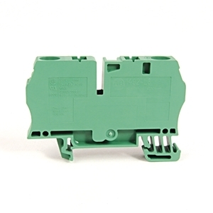 Allen-Bradley 1492-L6-G Terminal Block, 50A, 600V AC/DC, Green, 22 - 8AWG, 6mm