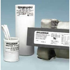 SYLVANIA M250/SUPER5-PS-KIT Magnetic Core & Coil Ballast, Metal Halide, Pulse Start, 250W, 120-277/480V