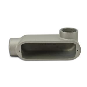 "Appleton LR150-M Conduit Body, Type LR, 1-1/2"", Form 35, Malleable Iron"
