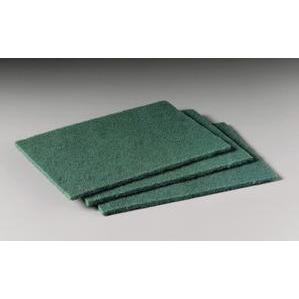 """3M 96 Scotch-Brite General Purpose Scouring Pad, 6""""x9"""", Green"""