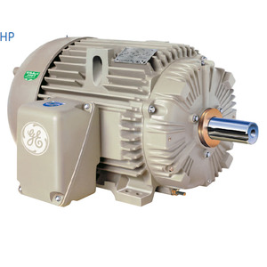 GE M9423 Motor, Extra Severe Duty, 5HP, 1800RPM, 460VAC, 184T Frame