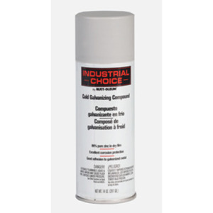 Bizline 1685830 Industrial Choice Aerosol Cold Galvanizing Compound, 14 Oz