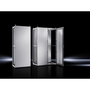 Rittal 8806500 Enclosure, Floor Mounted, 2000mm H x 800mm W x 600mm D, Single Door
