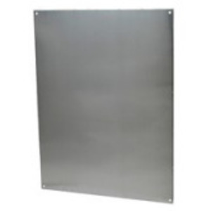 Allied Moulded PA206 Aluminum Enclosure Back Panel For Am2068