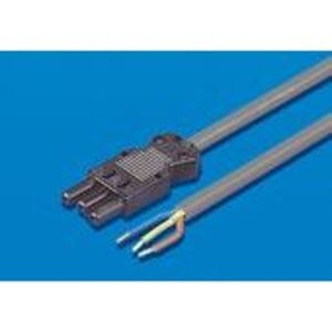 Rittal 4315150 Connection Cable, 3-Wire, Length: 3000 mm, Gray