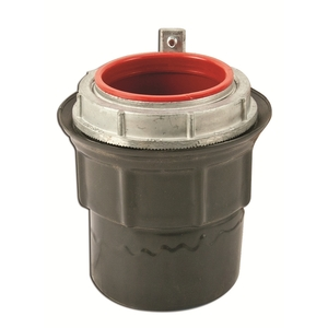 "Plasti-Bond PRSTG6 Conduit Hub, Type: Grounding, 2"", PVC Coated Steel"