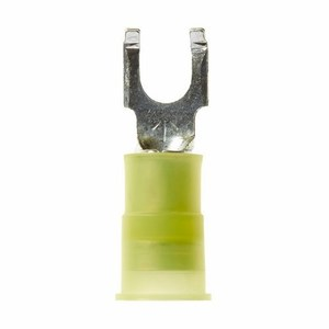 3M MNG10-10FFBK Block Fork Terminal, Type: Flanged, Nylon Insulated, 12 -10 AWG