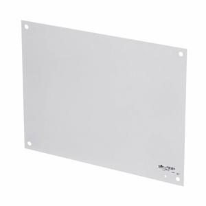 """Cooper B-Line AW2020-1P Panel For Enclosure, 20"""" x 20"""", For Medium Type 1 Enclosure, Steel"""