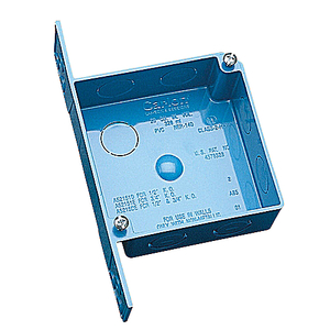 "Carlon A52151E 1-1/2"" Deep, 4"" Square, ENT Outlet/Switch Box"