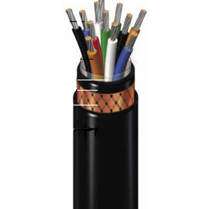 General Cable 279210 Flexible Control Cable, Type P, 12/4 AWG, Armored/Sheathed, 600V