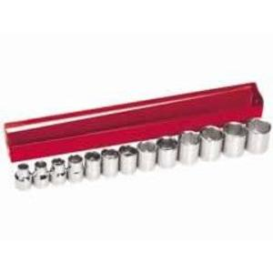 "Klein 65506 13-Piece 3/8"" Drive Socket Wrench Set, Metric"