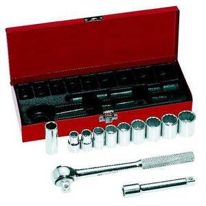 "Klein 65510 12-Piece 1/2"" Drive Socket Wrench Set"