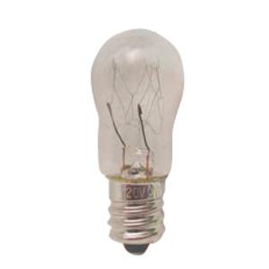 Candela 6S6-120V-I Miniature Incandescent Bulb, S6, 6W, 120V, Clear