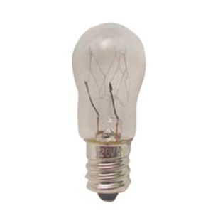 Candela 6S6-250V-I Miniature Incandescent Bulb, S6, 6W, 250V, Clear