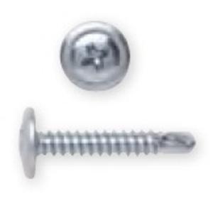 """Bizline R834WT5 Self-Drill Screw, Wafer Head, Phillips, 8 x 3/4"""""""