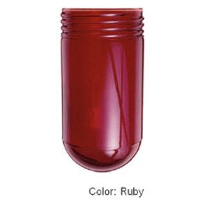 RAB GL100R Jelly Jar Glass Globe, Ruby