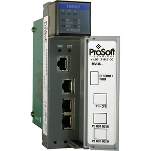Prosoft Technology MVI46-DFNT Communications Module, EtherNet/IP, Client/Server, SLC Platform