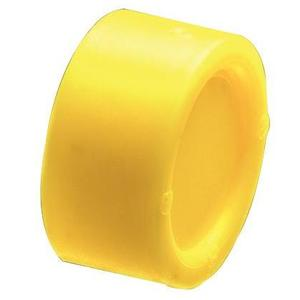 "Arlington EMT250C Capped Bushing, 2-1/2"", Insulating, Threadless, Non-Metallic"
