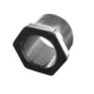 """Appleton 737DT2M25 Cable Gland Adapter, Metric to NPT, M20 to 3/4"""", Nickel Plated Brass"""