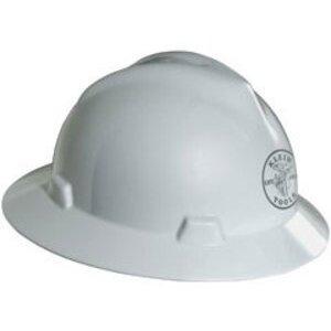 Klein 60031 Hard Hat V-gard -White Lman Logo