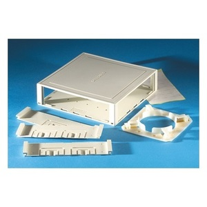 Ortronics 62100001 Multimedia Outlet Housing, Surface, Ivory