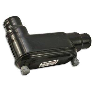 """Plasti-Bond PRHLB448 Conduit Body, Type: LB, FM8, 1/4"""", PVC Coated Iron"""