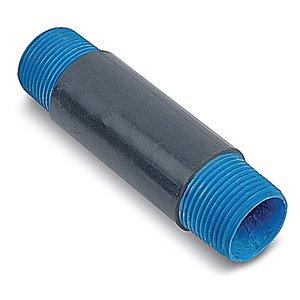 "Ocal NPL1X3-G Rigid Nipple, 1"" x 3"", Gray, PVC Coated/Steel"
