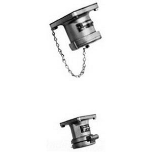 Appleton ADR3034RS Pin & Sleeve Receptacle, 30A, 600V, 4P3W, Style 2, Reverse Service