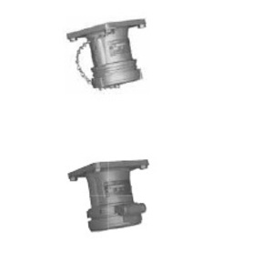 Appleton ADR6044RS Pin & Sleeve Receptacle, 60A, 4W4P, Style 1, Reverse Service