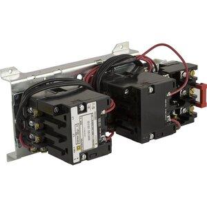 Square D 8736SAO16V02S Starter, Size 00, 9A, 600VAC, 120VAC Coil, Reversing, Open, 3P