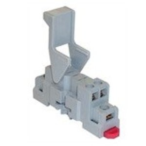 Square D 8501NR34 Relay, Socket, 14 Blade, 10A, 300VAC, DIN Rail Mount, Screw Clamp