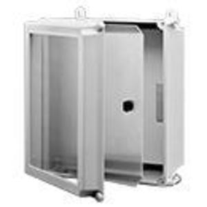 "Hoffman A18SPK16C Swing Out Panel Kit, Size: 18"" x 16"", For Use with 4X Enclosures, Aluminum"