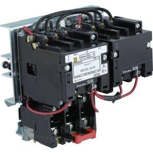 Square D 8736SBO4V02S Starter, Size 0, 18A, 600VAC, 120VAC Coil, Reversing, Open, 3P