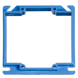 "Carlon A422 3/4"" Raised, 4"" Square ENT Box Extender"