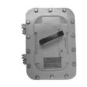 Appleton AEBB10036DS Safety Switch, HD, 100A, 3PH, 600VAC, Non-Fusible, Class I Div. 2