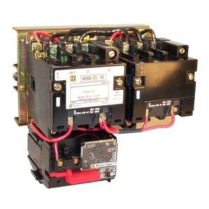 Square D 8736SEO2V02S Starter, Size 3, 90A, 600VAC, 120VAC Coil, Reversing, Open, 3P
