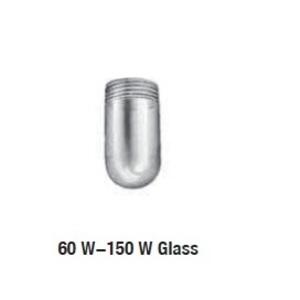 Appleton VGL-1BL Jelly Jar Glass Globe, Blue, 150W Max